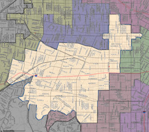 Council District 10 Map